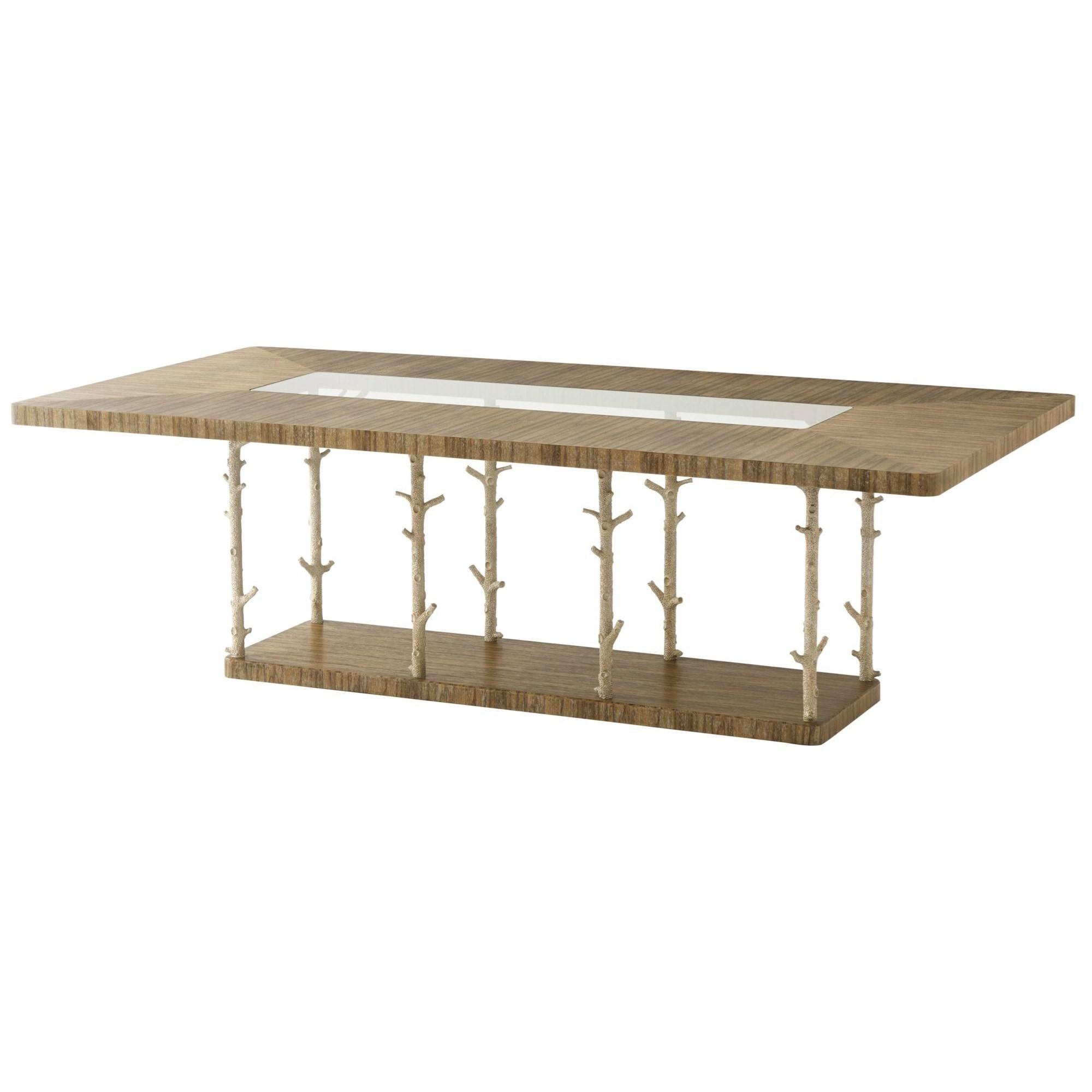 Theodore Alexander Corallo Wynwood II Rectangular Dining Table - Item Number: 5405-322CHC