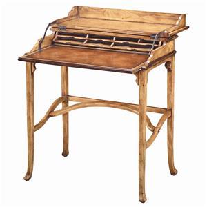 Theodore Alexander Desks Antiqued Pine Campaign Desk