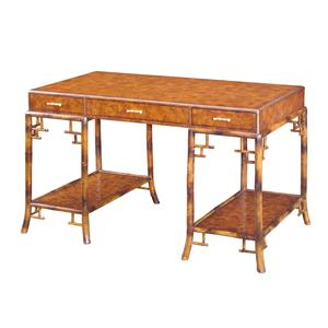 Theodore Alexander Desks Double Pedestal Writing Desk