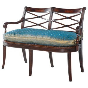Essential TA Hanover Square Bench by Theodore Alexander