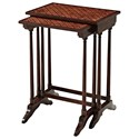 Theodore Alexander Essential TA A Parquetry Nest of Tables - Item Number: 5005-048