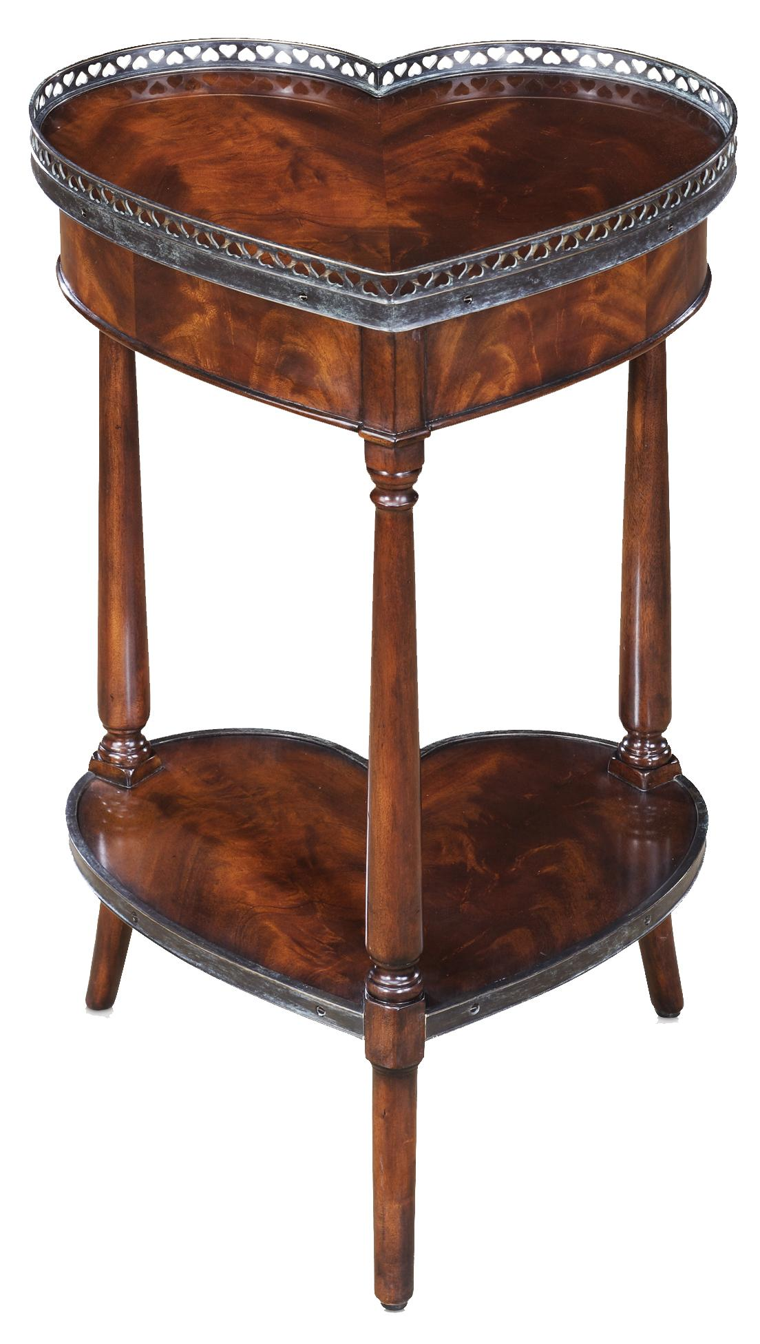 Theodore Alexander Essential TA Heart Lamp Table - Item Number: 5005-221