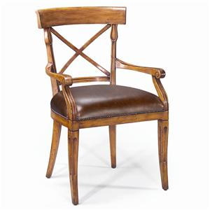 Theodore Alexander Seating Provincial Carved Arm Chair