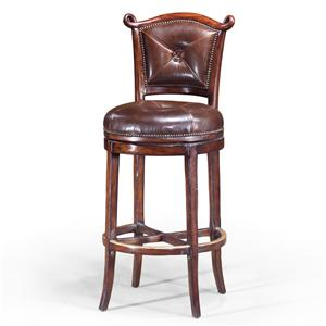 Theodore Alexander Seating Arched Back Barolo Bar Chair