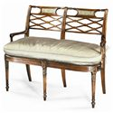 Theodore Alexander Seating George III Double Chair Back Settee/Sofa - Item Number: 4500-037