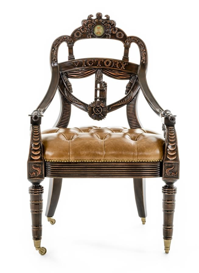 Theodore Alexander Seating Ad Victoriam Chair - Item Number: AL41067PO