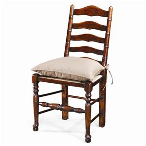 Theodore Alexander Seating Ladder Back Side Chair