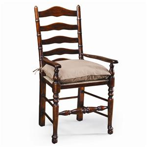 Theodore Alexander Seating Ladder Back Arm Chair