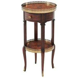 Louis XVI Circle Lamp Table