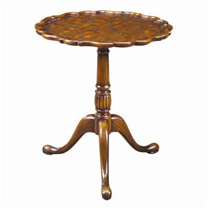 Theodore Alexander Tables Tripod Side Table