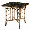 Theodore Alexander Tables Square Bamboo Center Table - Item Number: 5008-004