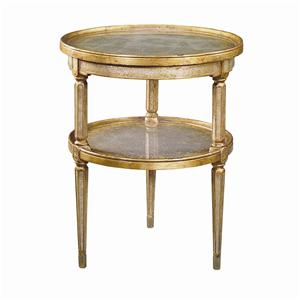 2 Tier Circular End Table