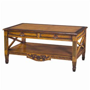Theodore Alexander Tables French Provincial Cocktail Table