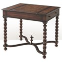 Theodore Alexander Tables William and Mary Game Table - Item Number: 5200-002