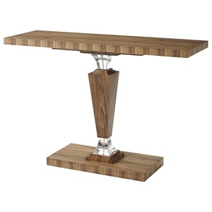 Optical Illusion Console Table