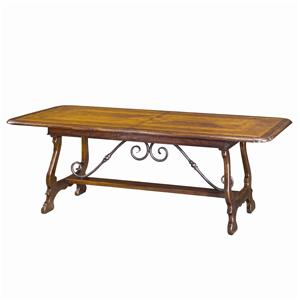 Traditional Extending Dining Table