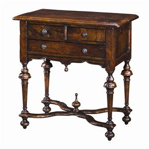 Theodore Alexander Tables Rectagular Antique End Table