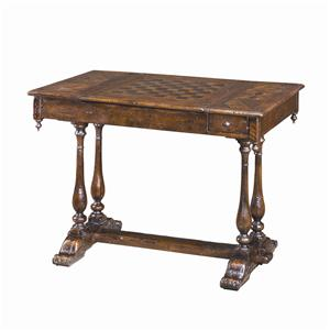 Antiqued Wood Games Table