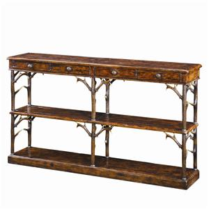 Theodore Alexander Tables Faux Deer Antler Sofa Table