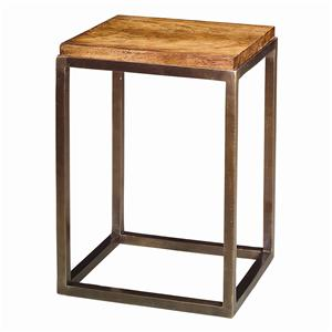 Theodore Alexander Tables Antiqued Honey Mahogany End Table