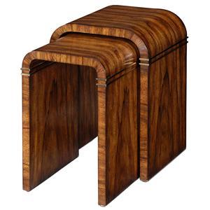 Theodore Alexander Vanucci Eclectics Nest Tables