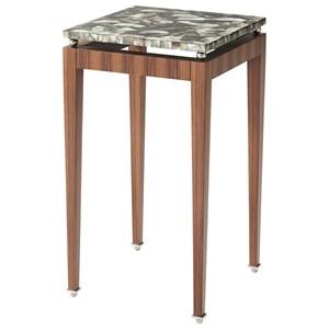 Theodore Alexander Vanucci Eclectics Dark Pearl Lamp Table