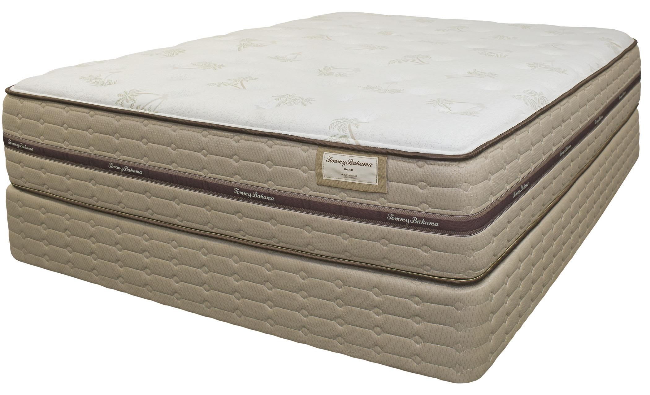 Tommy Bahama Mattress Tommy Bahama Mattress King Gone Coastal Plush Mattress - Item Number: 6020-K