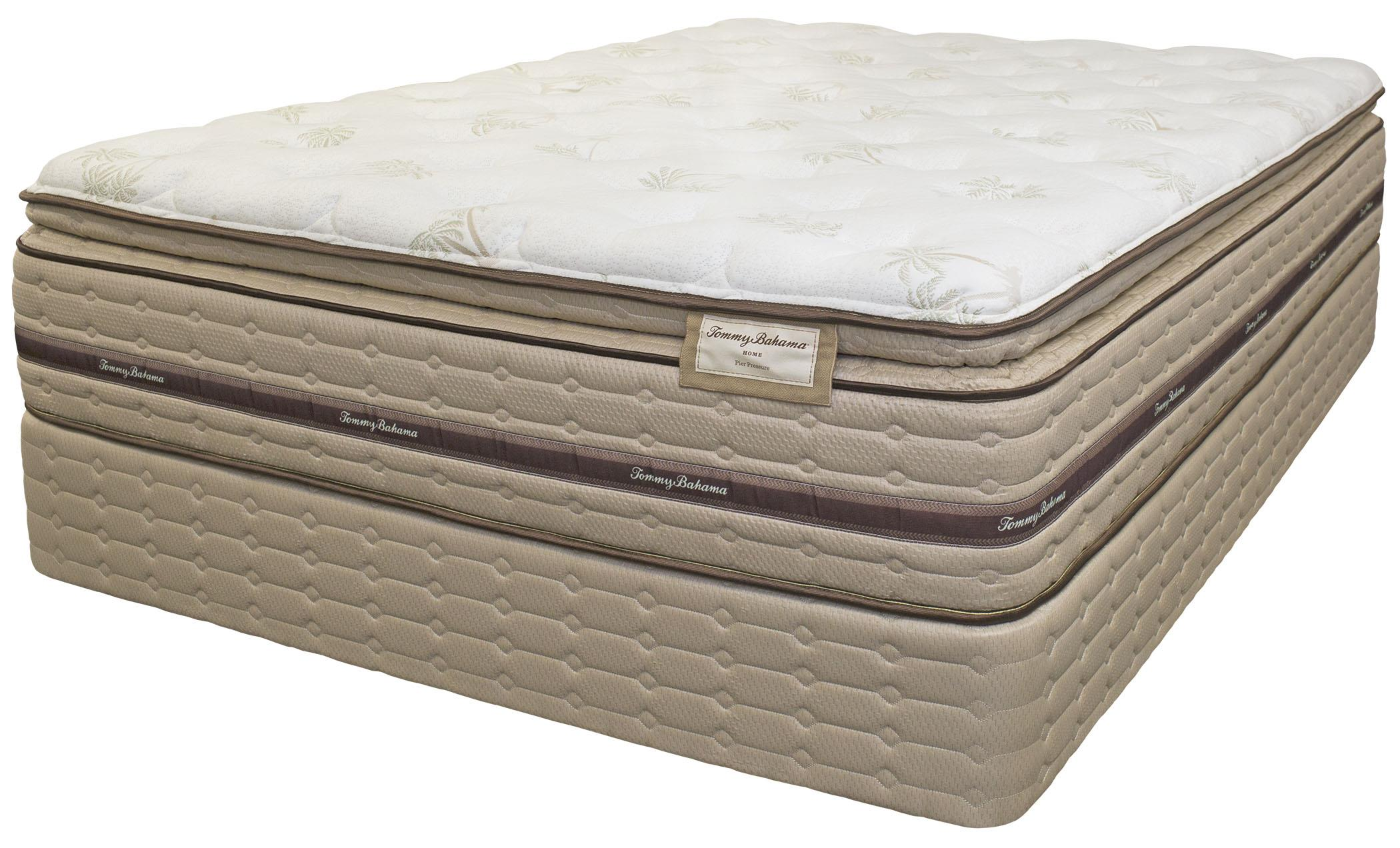 Tommy Bahama Mattress Tommy Bahama Mattress Queen Pier Pressure Pillow Top Matt Set - Item Number: 6025-Q+6005-Q