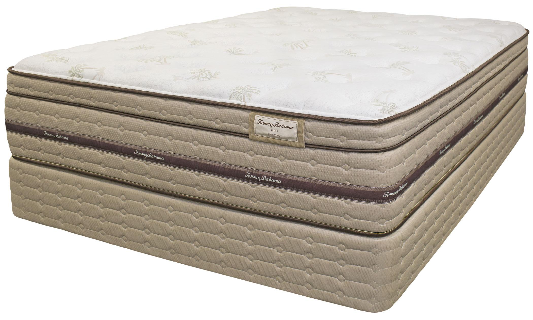 Tommy Bahama Mattress Tommy Bahama Mattress Twin XL Shore Thing PT Matt Set, Adjustable - Item Number: 6030-TXL+RContempo-TXL