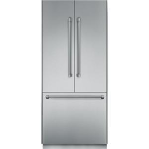 "Thermador Bottom Freezer Refrigerators - Thermador 36"" Built-In French Door Refrigerator"