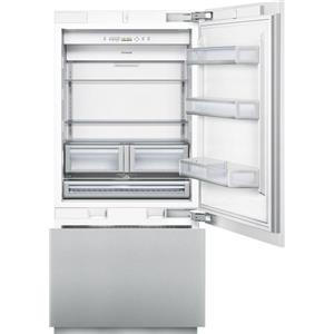 "Thermador Bottom Freezer Refrigerators - Thermador 36"" Custom 2-Door Bottom Freezer"