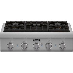 "Thermador Gas Cooktops - Thermador 30"" 5 Burner Gas Rangetop"