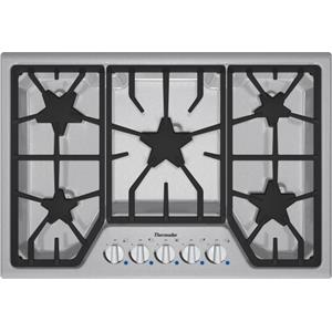 "Thermador Gas Cooktops - Thermador 30"" 5 Burner Gas Cooktop"