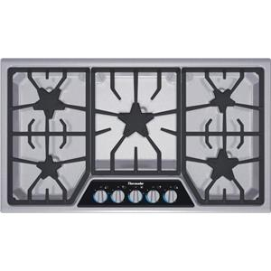 "Thermador Gas Cooktops - Thermador 36"" 5 Burner Gas Cooktop"