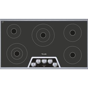 "Thermador Electric Cooktops - Thermador 36"" 5 Burner Electric Cooktop"
