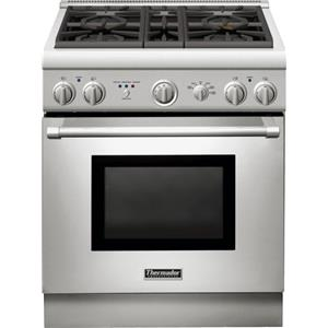 "Thermador Ranges - Thermador 30"" Dual-Fuel 4 Burner Range"