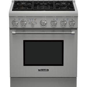 "Thermador Ranges - Thermador 30"" Dual-Fuel 5 Burner Range"