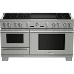 "Thermador Ranges - Thermador 60"" Commercial Depth Dual Fuel Steam Range"
