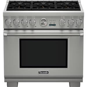 "Thermador Ranges - Thermador 36"" Pro Grand® 6 Burner All Gas Range"