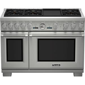 "Thermador Ranges - Thermador 48"" Dual-Fuel Commercial Depth Gas Range"