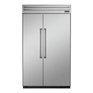 "Thermador Side-By-Side Refrigerators - Thermador 48"" Built-In Side-By-Side Refrigerator"