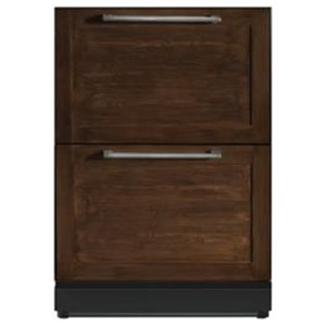 "Thermador Under Counter Refrigerator - Thermador 24"" Under-Counter Double Drawer Refrigerator"