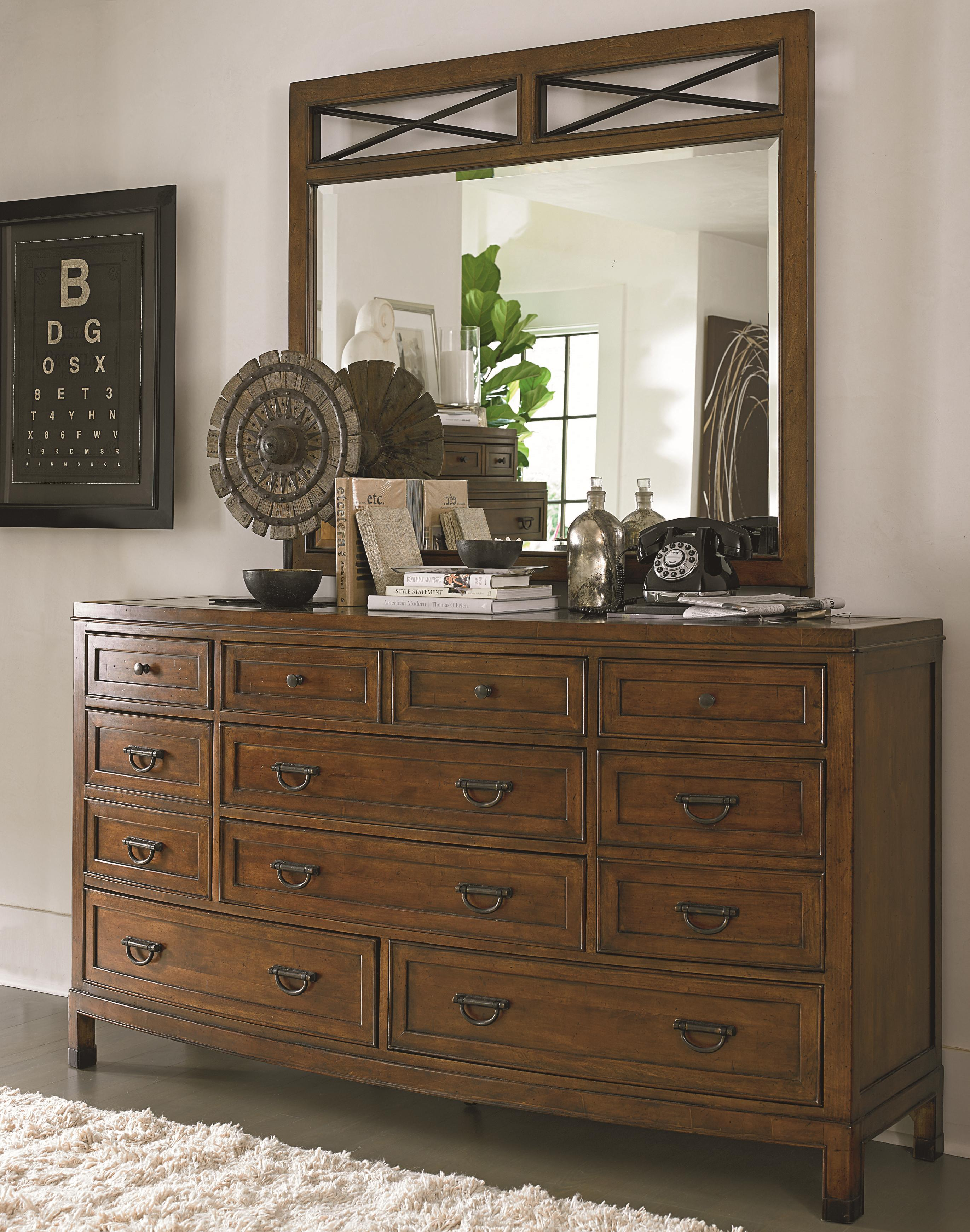 Thomasville® American Anthem Dresser and Mirror - Item Number: 82811-130+240