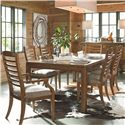 Thomasville® American Anthem Arm Chair w/ Ladder Back - Shown with Table and Side Chairs