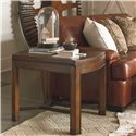 Thomasville® American Anthem End Table w/ Metal Stretcher - Shown in Room Setting