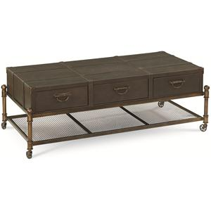Thomasville® American Anthem Leather Cocktail Table