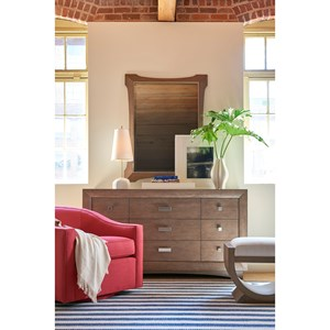 Thomasville® Anthony Barratta Arden Dresser and Quinn Mirror
