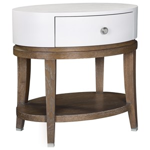 Thomasville® Anthony Barratta Luciana Oval Bedside Table