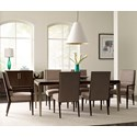 Thomasville® Ave A 7 Pc Dining Set - Item Number: 84721-752+2X882+4X881
