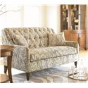 Thomasville® Barcelona  Tufted Back Settee Sofa